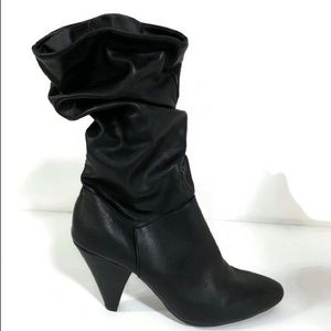 A new day Vegan Leather high heel boot